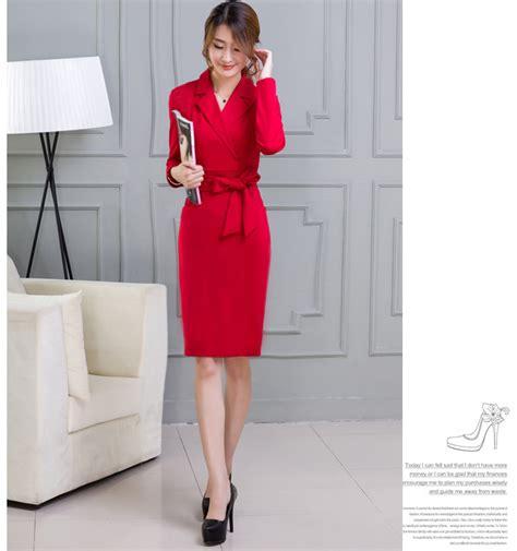 Dress Scuba Quality Dress Cantik Fashion Wanita busana kerja wanita korea sleeved dress