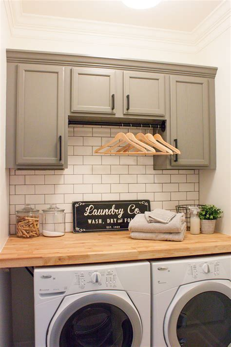 modern laundry room decor modern farmhouse laundry room reveal orc week 6 gather