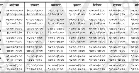New Load Shedding Schedule by New Loadshedding Schedule Effective From Baishak 22 2070