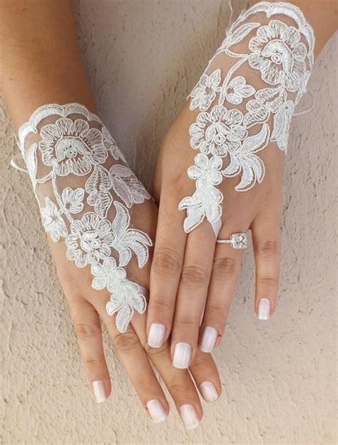 Lace Wedding Gloves free ship ivory lace wedding gloves bridal gloves