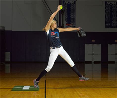 Powerline Pitching Mat by Jennie Finch Aids Accessories