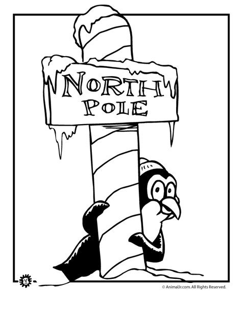 christmas penguin coloring pages az coloring pages
