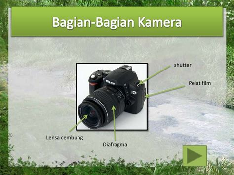 Kamera Lensa Cembung alat optik kamera fisika ceria