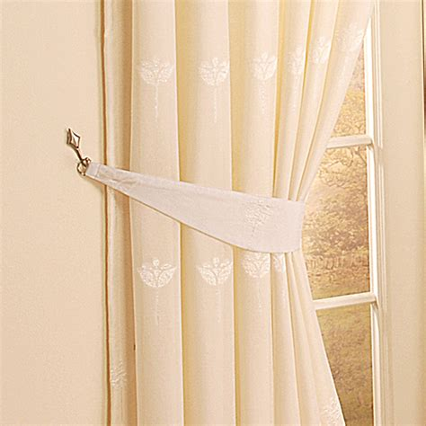 how to tie back curtains with hooks curtain tie backs images