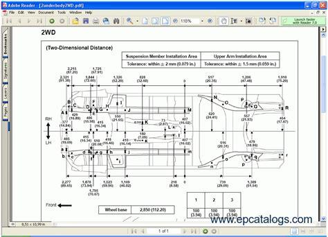 motor repair manual 2007 lexus ls spare parts catalogs toyota lexus body dimensions