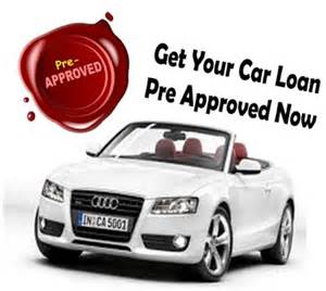 Auto Credit Of Pre Approved Auto Loans With Bad Credit