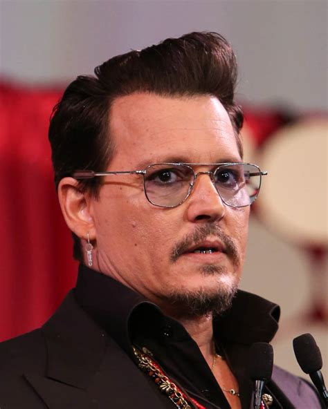 Johnny Depp Johnny Depp Honours Ve Neill At The Make Up Artists And