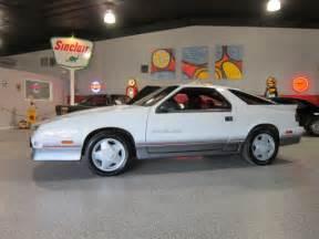 1989 dodge daytona shelby hatchback 2 door 2 2l for sale