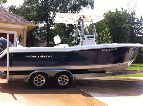 fish and ski boats for sale houston tx 2011 sea hunt ultra 232 houston tx the hull truth