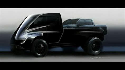 tesla truck tesla concept revealed but is it for fox