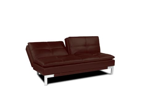 convertable couches brenem convertible sofa medium brown by serta lifestyle