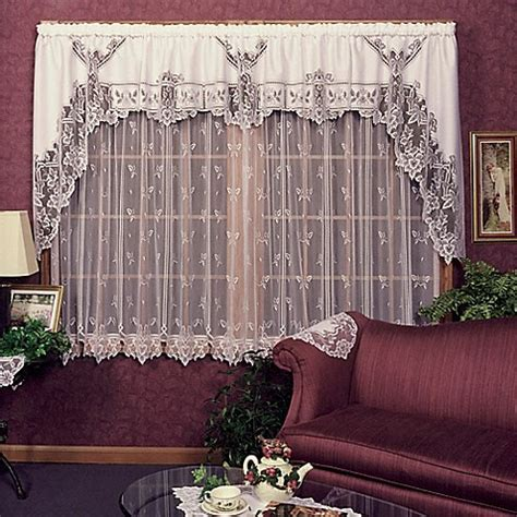 Heritage Lace® Heirloom Window Curtain Panel and Valance