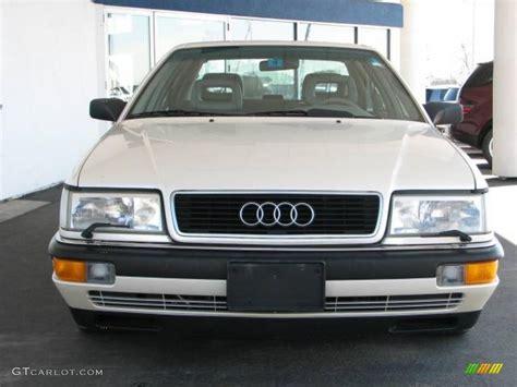 1991 Audi V8 by Alpine White 1991 Audi V8 Quattro Exterior Photo 7386483