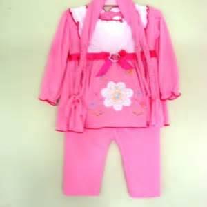 Baju Muslim Gamis Celana setelan gamis bayi baju muslim plus celana panjang dan jilbab noni baju bayi celana bayi celana