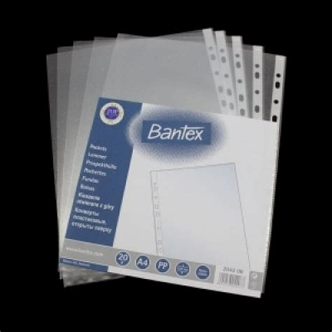 Harga Clear Folder bantex pocket a4 0 06mm pp clear ohp 2040
