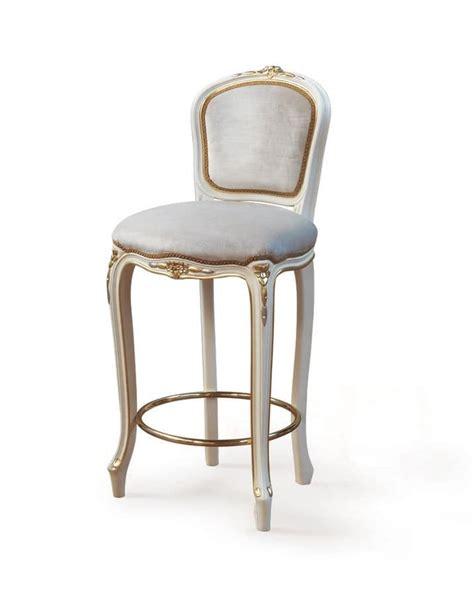 sgabelli imbottiti con schienale sgabello classico di lusso con seduta e schienale