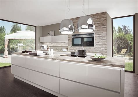Kitchen Island With Range new handleless kitchens for 2015 from nobilia home