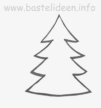 Bastelvorlage Weihnachtsbaum Papier kostenlose bastelvorlage tannenbaum