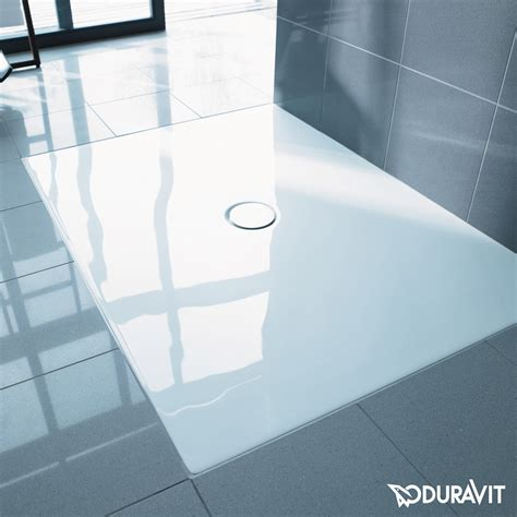 Bathroom Shower Trays Duravit Duraplan Floor Level Shower Tray White With Antislip 720084000000001 Reuter Shop