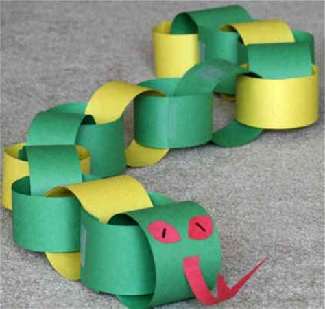 How To Make A 3d Snake Out Of Paper - best 25 snake crafts ideas on zoo crafts