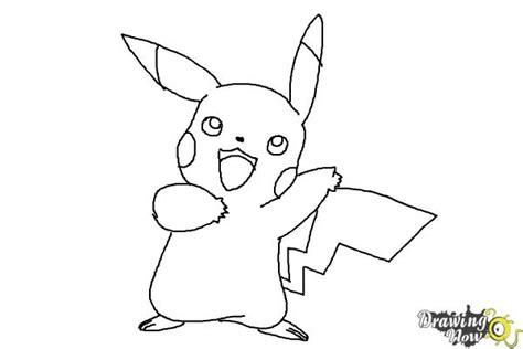 Drawing Now by How To Draw Pikachu Step By Step Drawingnow