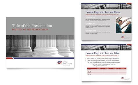 legal government services powerpoint presentation