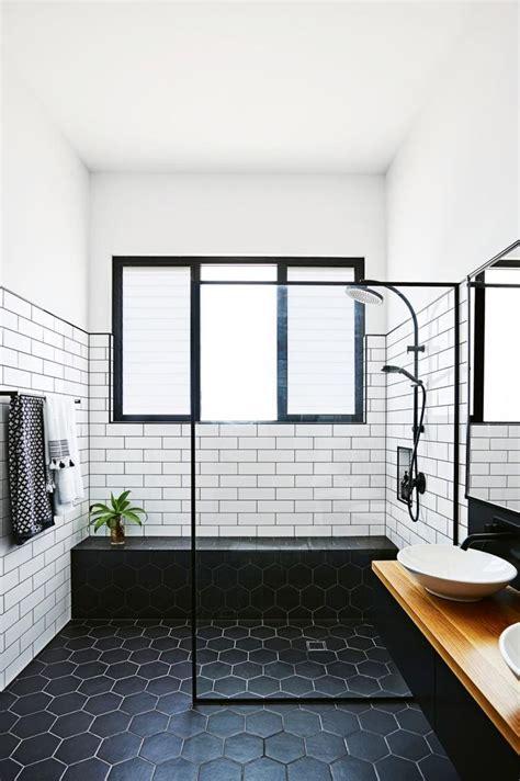 Black And White Bathroom Wall glass bathroom design black and white australianwild org