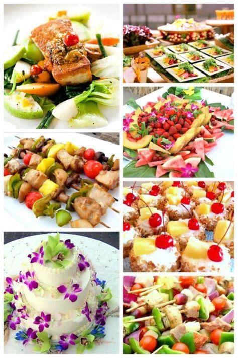 food ideas for tropical wedding shower 2 25 best ideas about luau wedding receptions on
