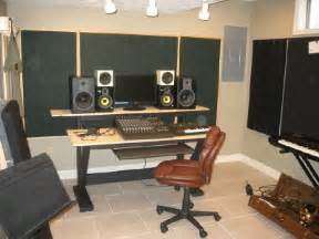 Diy Recording Desk Diy Recording Studio Furniture Plans Images