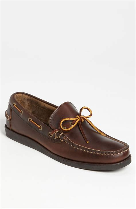 eastland made in maine boat shoes dark brown leather boat shoes eastland made in maine