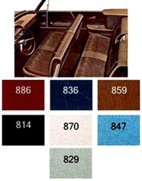 1964 Impala Interior Kit by 1964 Chevy Impala Convertible Non Ss Interior Package Kit