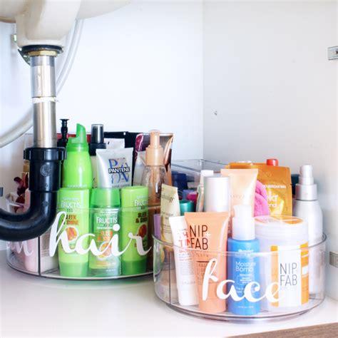 Organizing Bathroom Sink by Bathroom Sink Organization Ideas Blue I Style