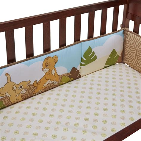 Baby Cing Crib Disney Baby 4 Secure Me Crib Bumper The King Baby Baby Bedding Bumpers Rail