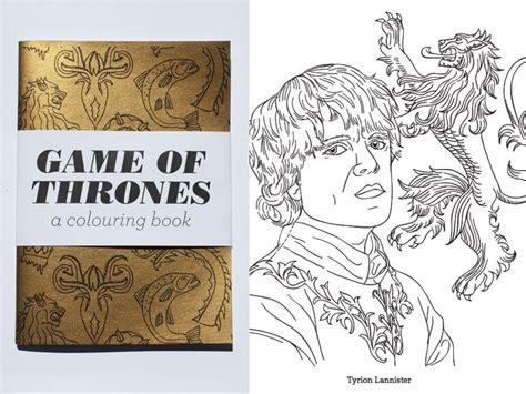 thrones colouring book tesco trend kleurboeken voor grote mensen steps