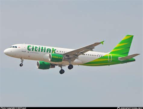 Citilink Garuda | pk glg citilink garuda indonesia airbus a320 214 pesawat