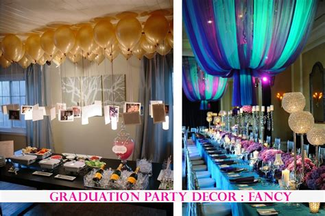 party themes of 2015 graduation party decor ideas traffic chic