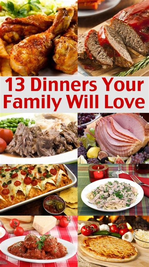 dinner menus and recipes easy family menu ideas dinners your family will