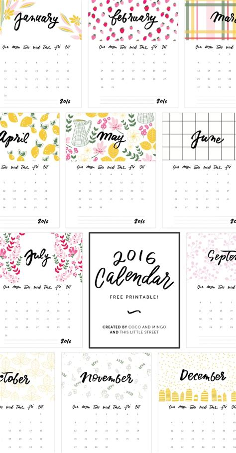 new year 2016 printable images for the new year 2016 printable calendar free