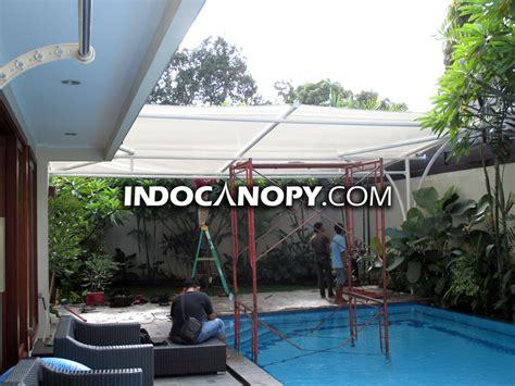 Tenda Anak Murah Bandung canopy kain jakarta tenda membrane awning gulung murah