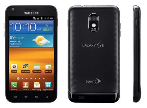 sprint android phones samsung galaxy s ii android smartphone for sprint pcs mint condition used cell phones cheap