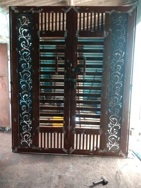 pin  bunty mittal  doors front gate design door