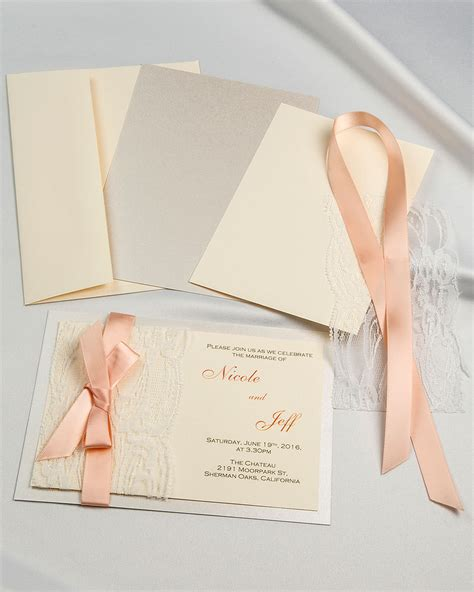 do it yourself wedding invitations the ultimate guide pretty designs