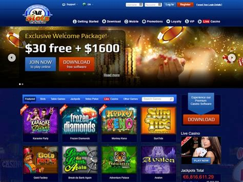 all slots casino review casino listings all slots casino review canada