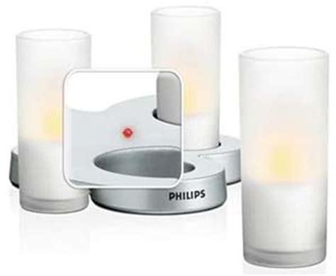 philips imageo table lights philips imageo candlelights 3 bougies led photophores
