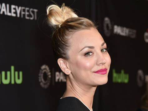 big bang theory penny messy bun kaley cuoco s wedding dress on the big bang theory is just