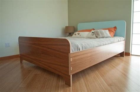 plywood bed frame modern euro solid core plywood queen size bed with colored