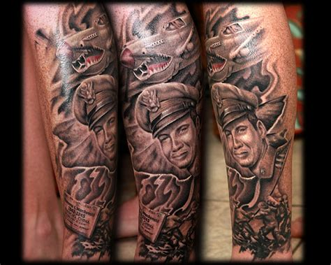 70 Amazing Tattoo Sleeves To Blow Your Mind World War 2 Tattoos Design