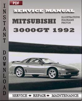 service manual manual repair free 1992 mitsubishi 3000gt lane departure warning mitsubishi mitsubishi 3000gt 1992 workshop repair manual repair service manual pdf