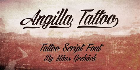 tattoo fonts download photoshop angilla font 1001 free fonts