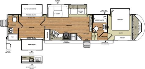 wildwood fifth wheel floor plans new 2017 forest river wildwood heritage glen 356qb fifth